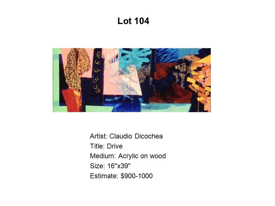 Lot 99 Artist: Alfredo Arreguín Title: Camelia Medium: Oil on canvas