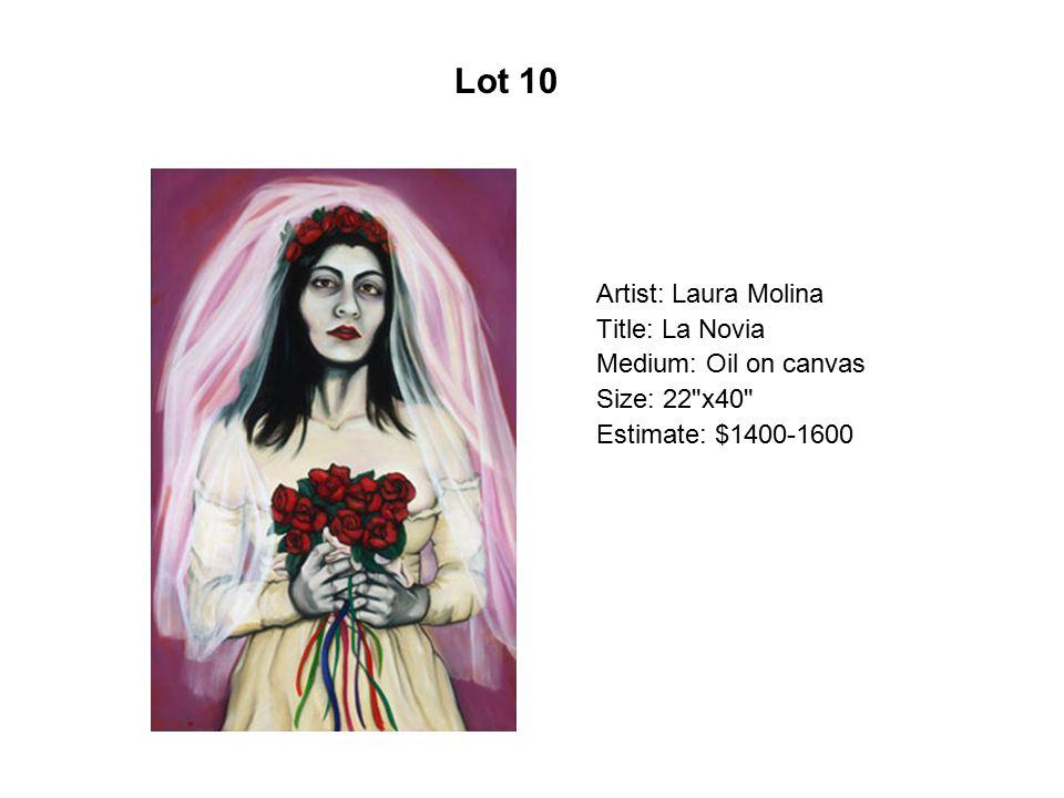 Lot 5 Artist: Alma Gómez Title: El Sagrado Corazón