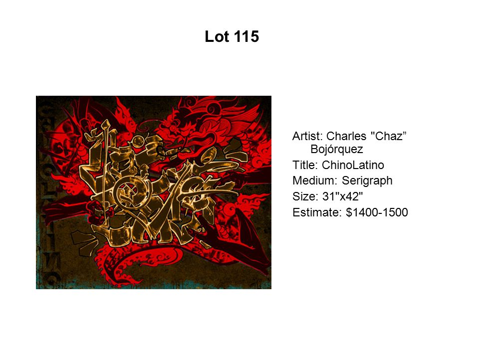 Lot 110 Artist: Ester Hernandez Title: Frida y yo Medium: Lithograph