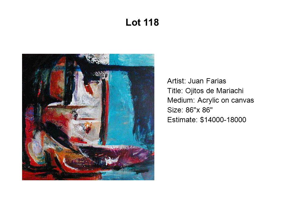 Lot 113 Artist: Aydee Lopez Martínez
