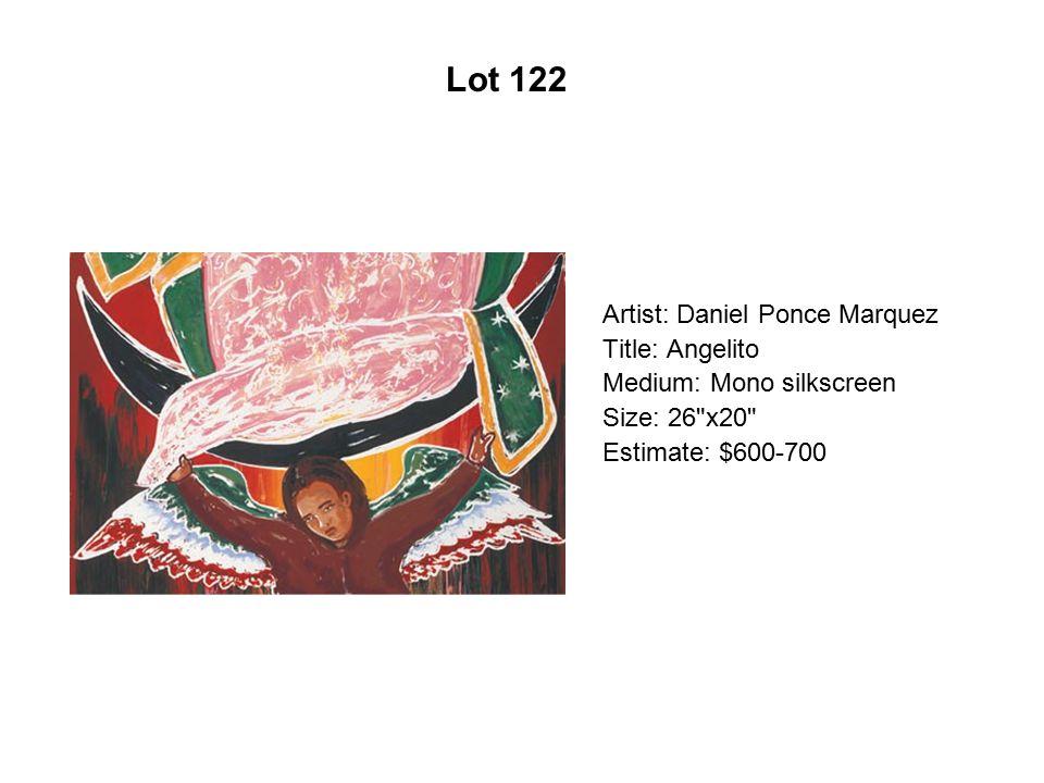 Lot 117 Artist: Héctor Duarte