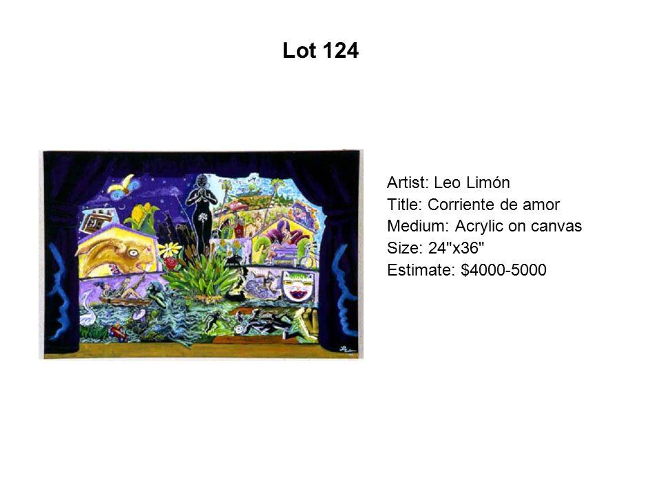 Lot 119 Artist: Martin Moreno Title: Dualities Medium: Serigraph