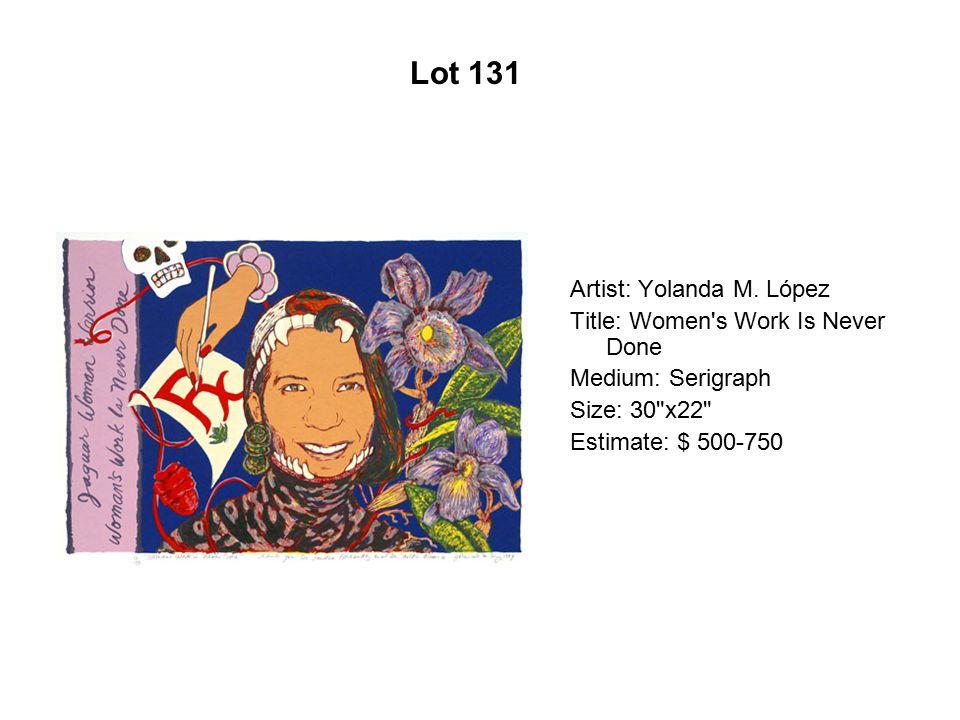 Lot 126 Artist: Raoul De La Sota Title: Cactus Curtain