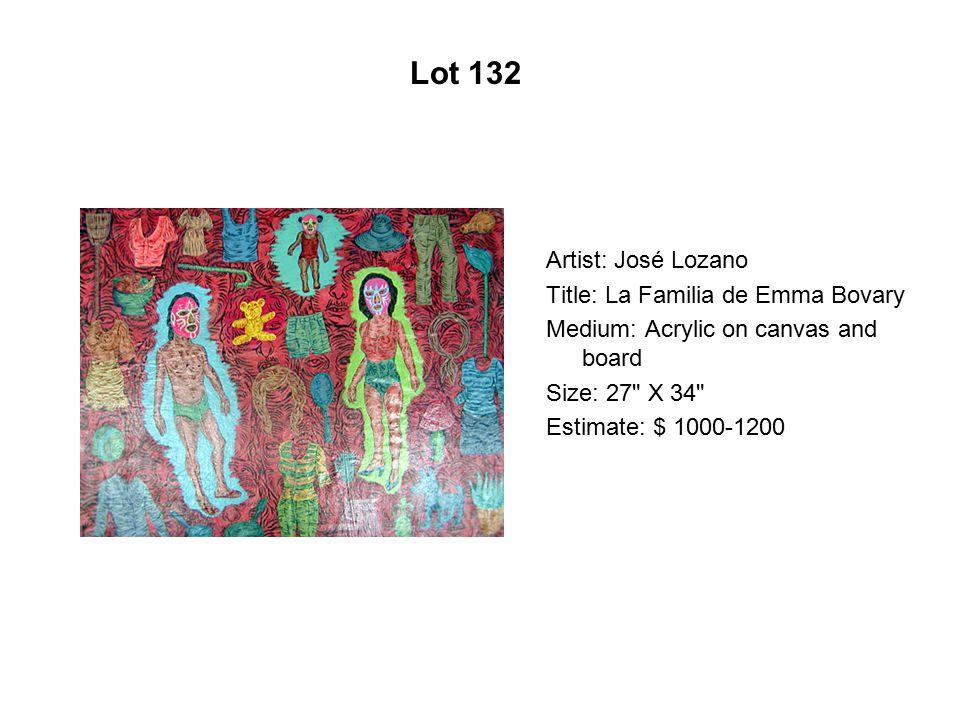 Lot 127 Artist: Luis De La Torre Title: The Future Revisited