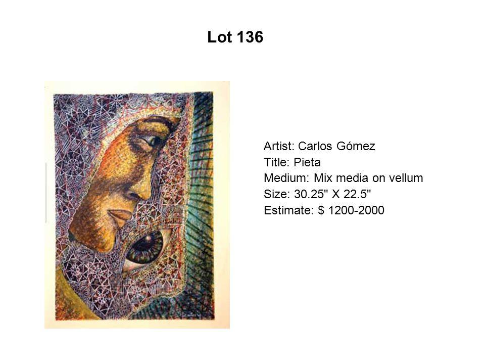 Lot 131 Artist: Yolanda M. López Title: Women s Work Is Never Done