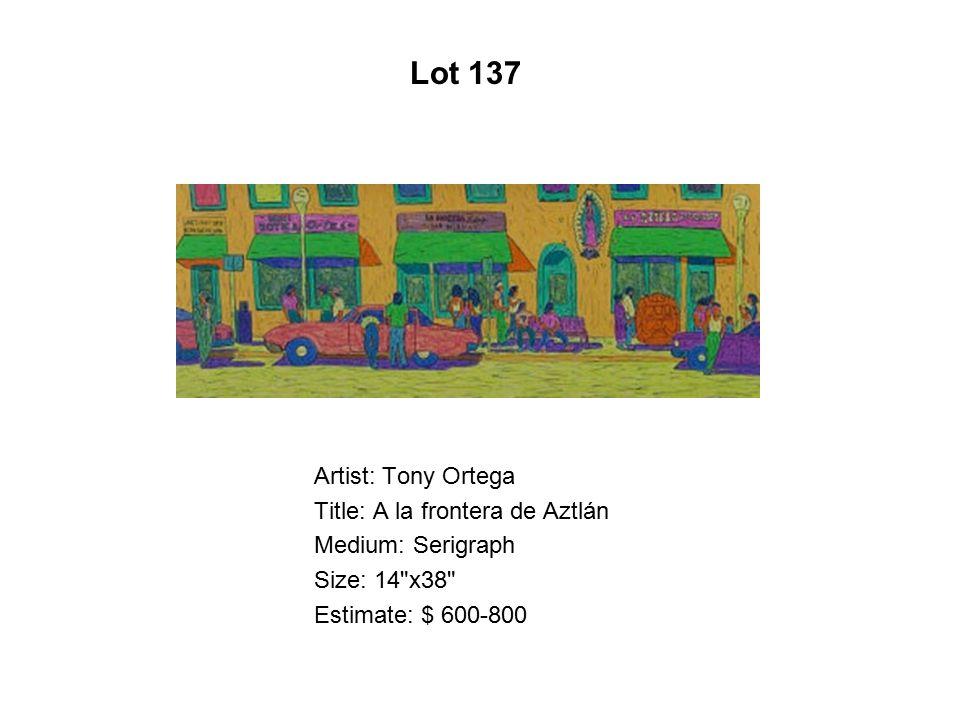 Lot 132 Artist: José Lozano Title: La Familia de Emma Bovary