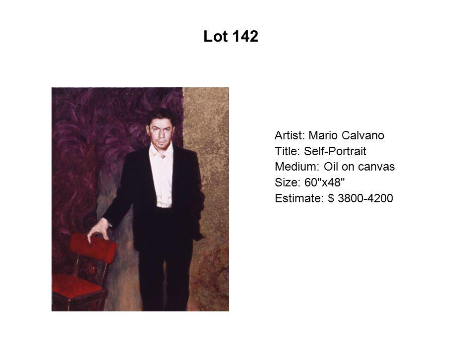 Lot 137 Artist: Tony Ortega Title: A la frontera de Aztlán