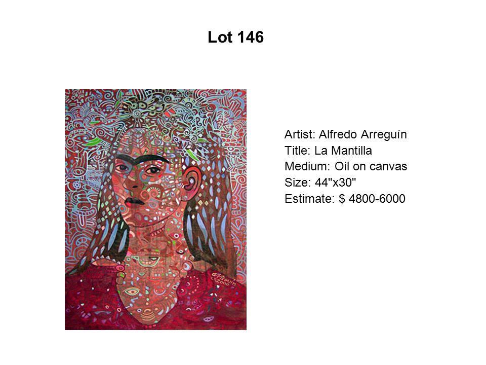 Lot 141 Artist: Esperanza Gama Title: Mi viaje