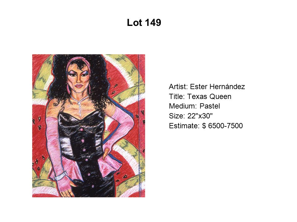 Lot 144 Artist: Joseph Nuke Montalvo Title: Todos somos chusma