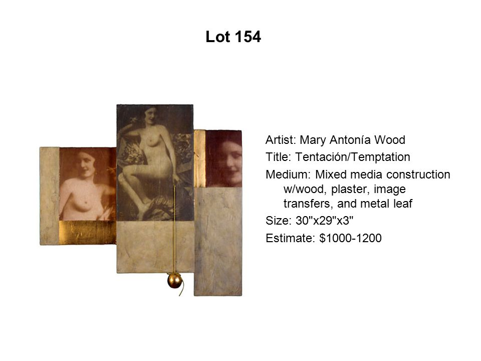 Lot 149 Artist: Ester Hernández Title: Texas Queen Medium: Pastel