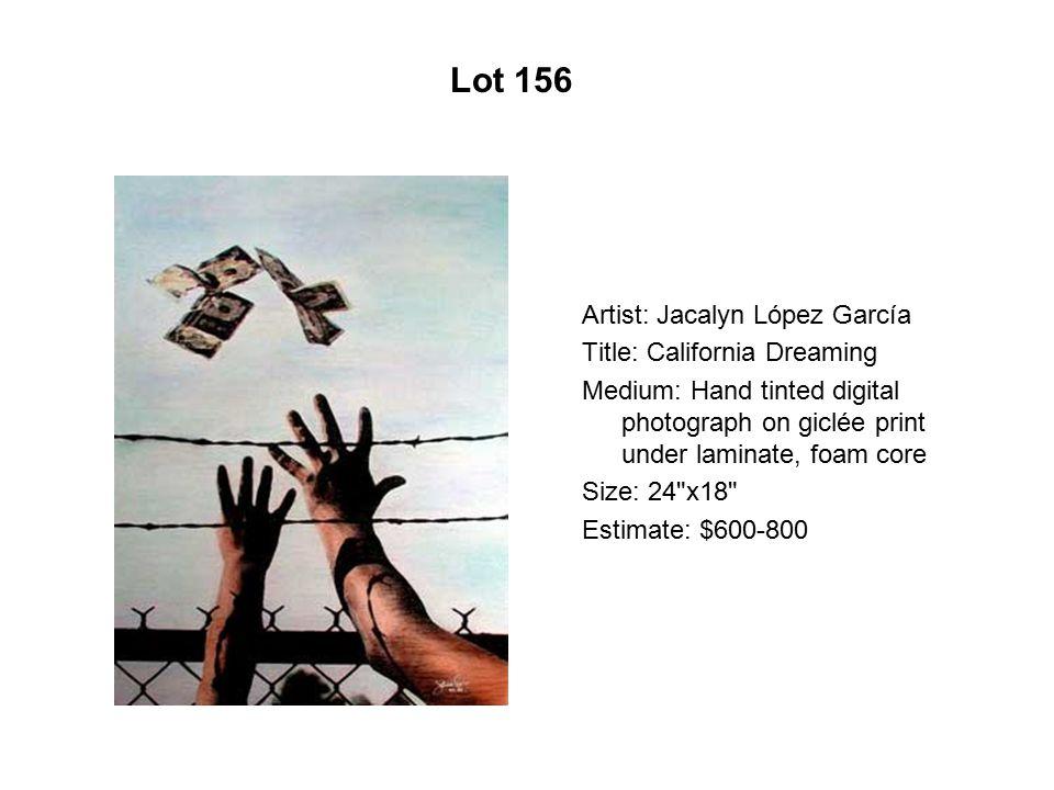 Lot 151 Artist: Fernando Barragón Title: Entre el cielo y los brazos