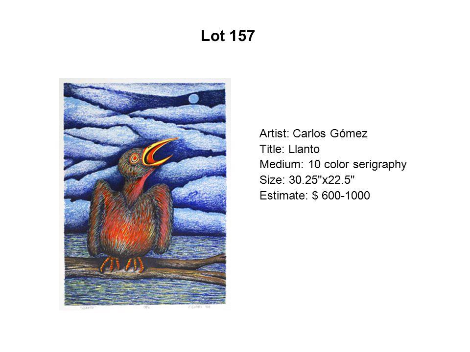 Lot 152 Artist: Connie Arismendi Title: Sevilla