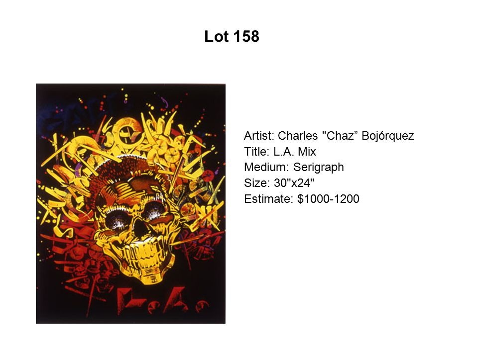 Lot 153 Artist: Carlos Santistevan Title: Red and Gold Low Rider