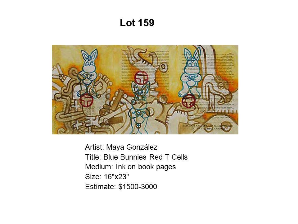 Lot 154 Artist: Mary Antonía Wood Title: Tentación/Temptation