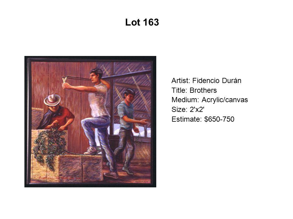 Lot 158 Artist: Charles Chaz Bojórquez Title: L.A. Mix