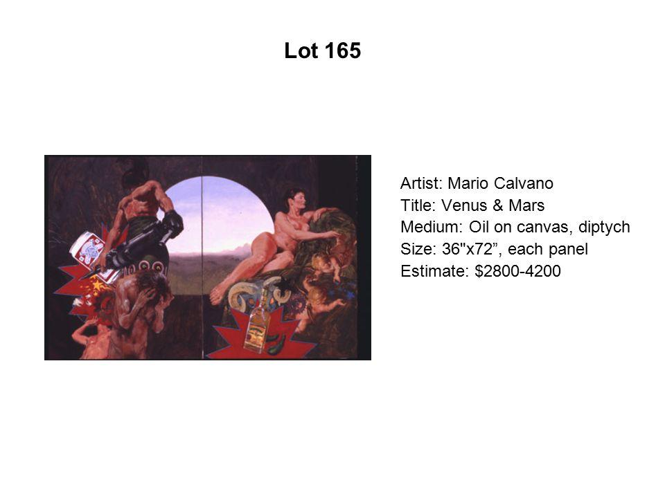 Lot 160 Artist: Luis De La Torre