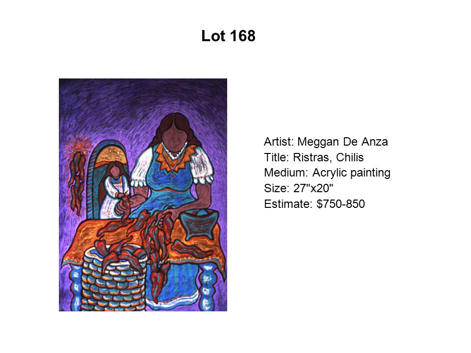 Lot 163 Artist: Fidencio Durán Title: Brothers Medium: Acrylic/canvas