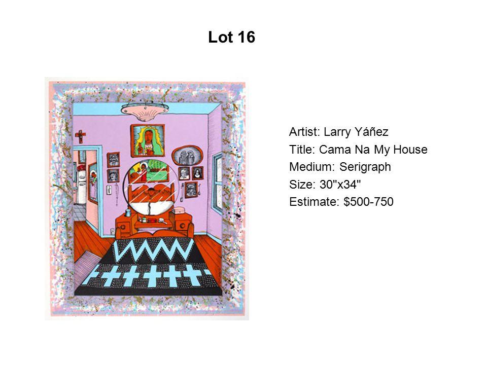 Lot 11 Artist: Silvia Capistrán Title: Before
