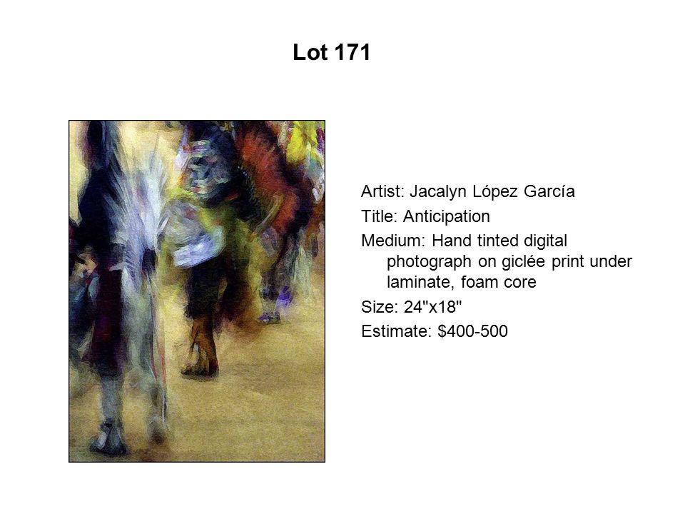Lot 166 Artist: Isabel Martínez Title: V.G. Got Her Green Card