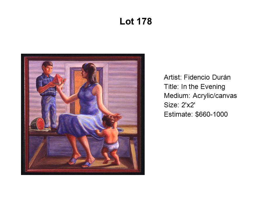 Lot 173 Artist: Carlos Santistevan Title: Low Rider Truck