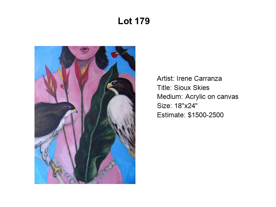 Lot 174 Artist: Silvia Capistrán Title: Atardecer/Dusk
