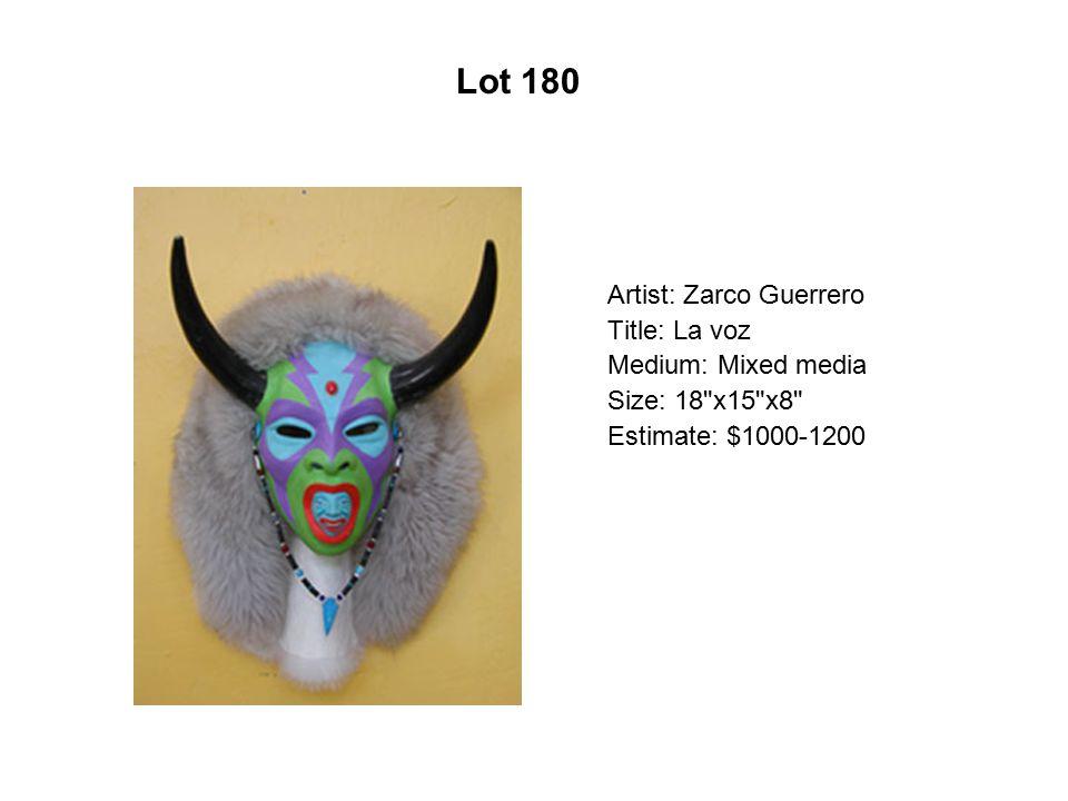 Lot 175 Artist: Alex Rubio Title: El Spider Medium: Serigraph