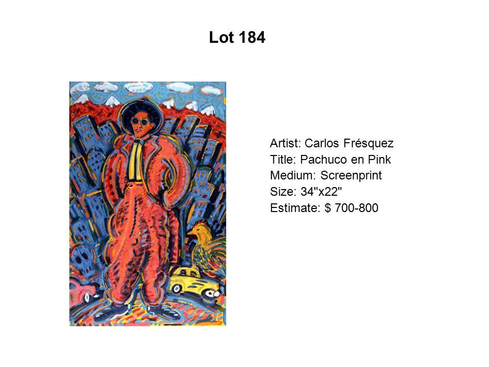 Lot 179 Artist: Irene Carranza Title: Sioux Skies
