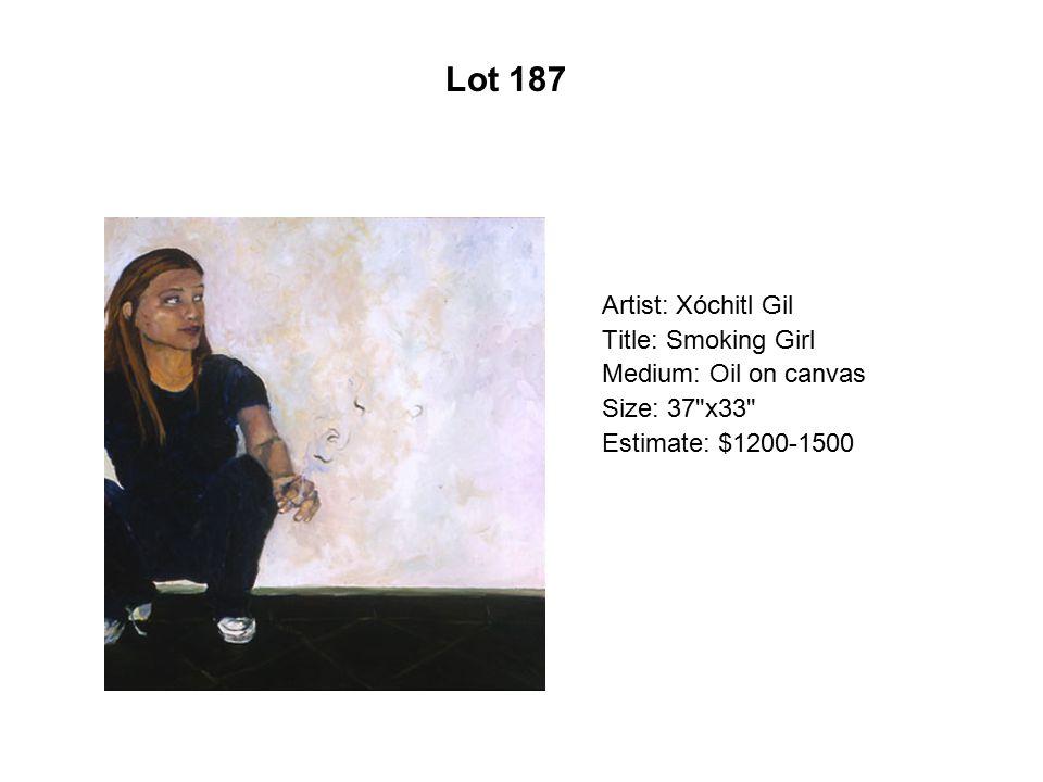 Lot 182 Artist: Dolores Guerrero Title: Jugo de naranja