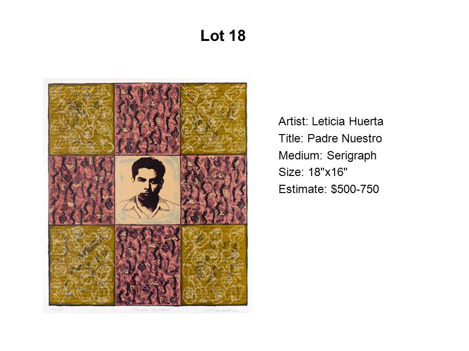 Lot 13 Artist: Wayne Alaniz Healy Title: Where Are You From Ey