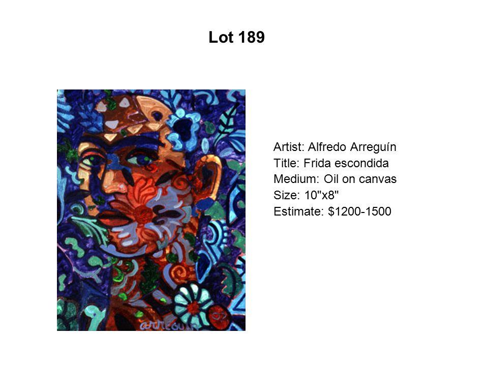 Lot 184 Artist: Carlos Frésquez Title: Pachuco en Pink
