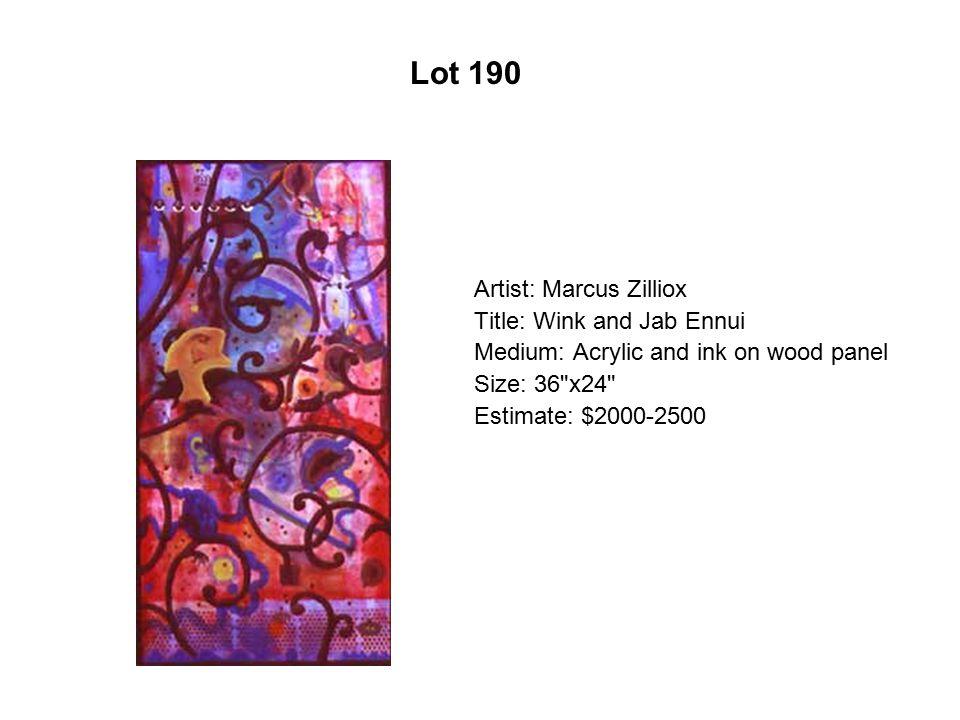 Lot 185 Artist: Juan Farias Title: Cositas de amor
