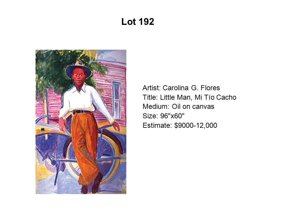 Lot 187 Artist: Xóchitl Gil Title: Smoking Girl Medium: Oil on canvas