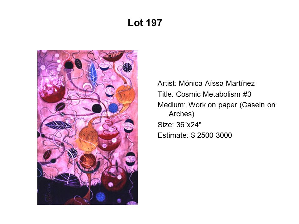 Lot 192 Artist: Carolina G. Flores Title: Little Man, Mi Tío Cacho