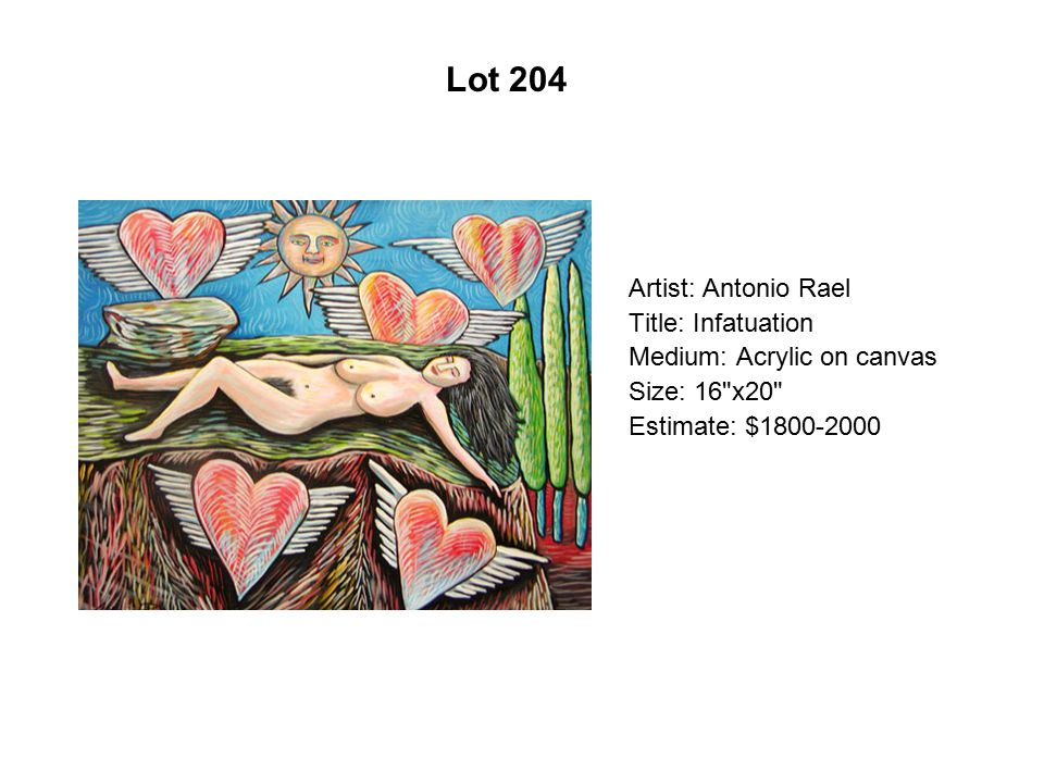 Lot 199 Artist: Santiago Pérez Title: The Imp's Tale