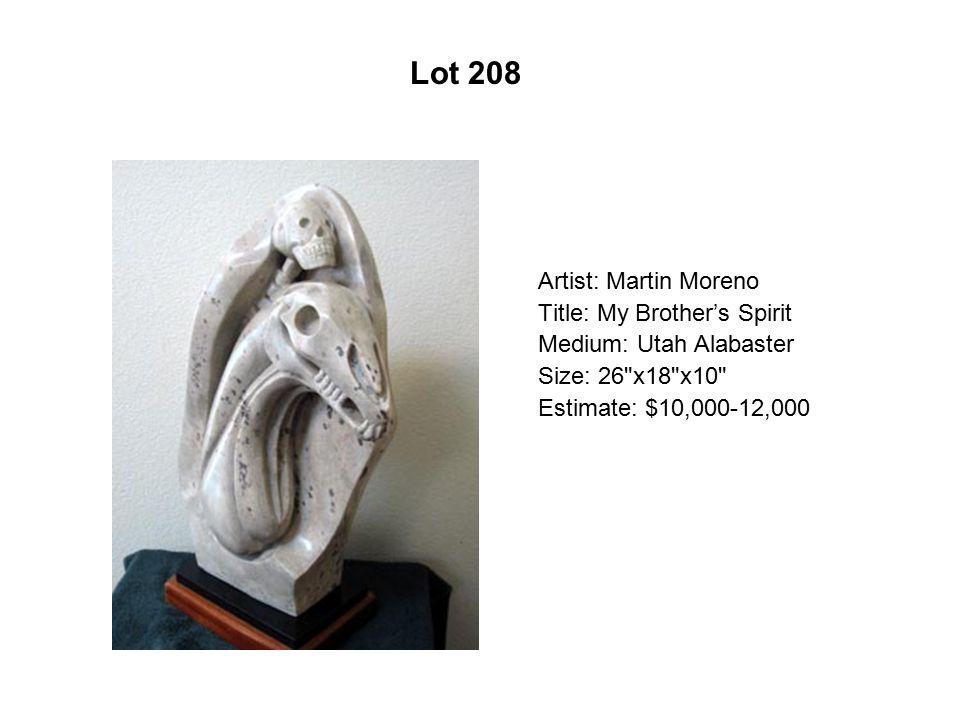 Lot 203 Artist: Sergio Tapia Title: Paradise Lost