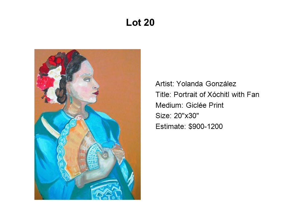 Lot 15 Artist: Benito Huerta Title: Cast of Characters