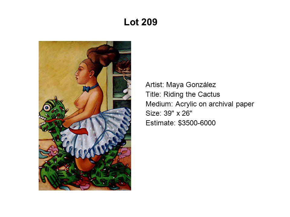 Lot 204 Artist: Antonio Rael Title: Infatuation