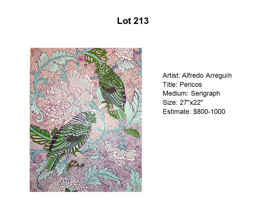 Lot 208 Artist: Martin Moreno Title: My Brother's Spirit