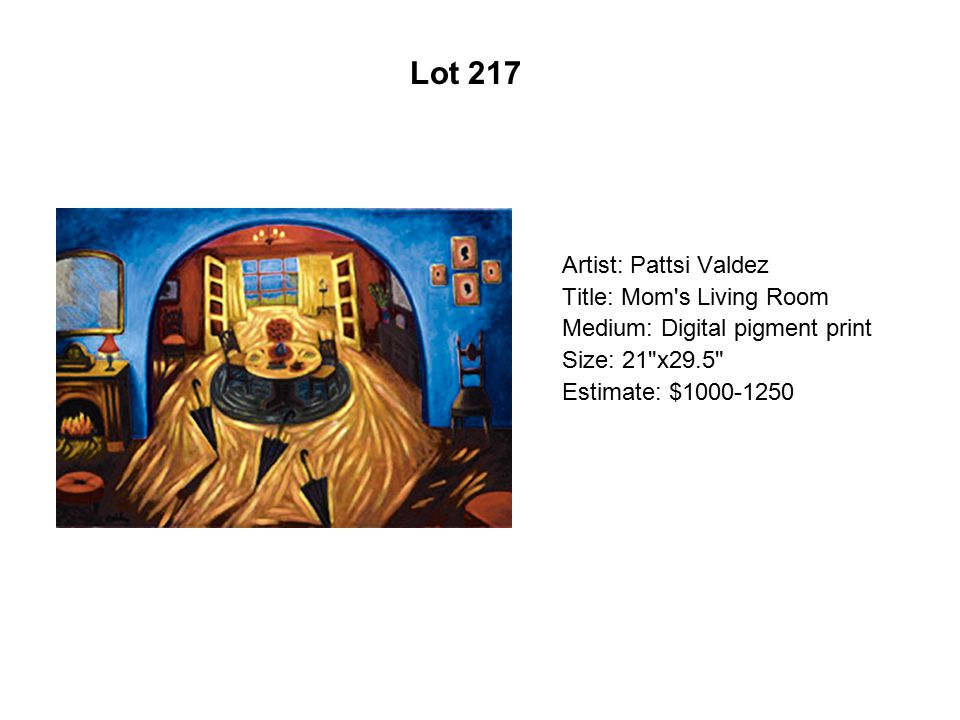 Lot 212 Artist: Roberto Sifuentes