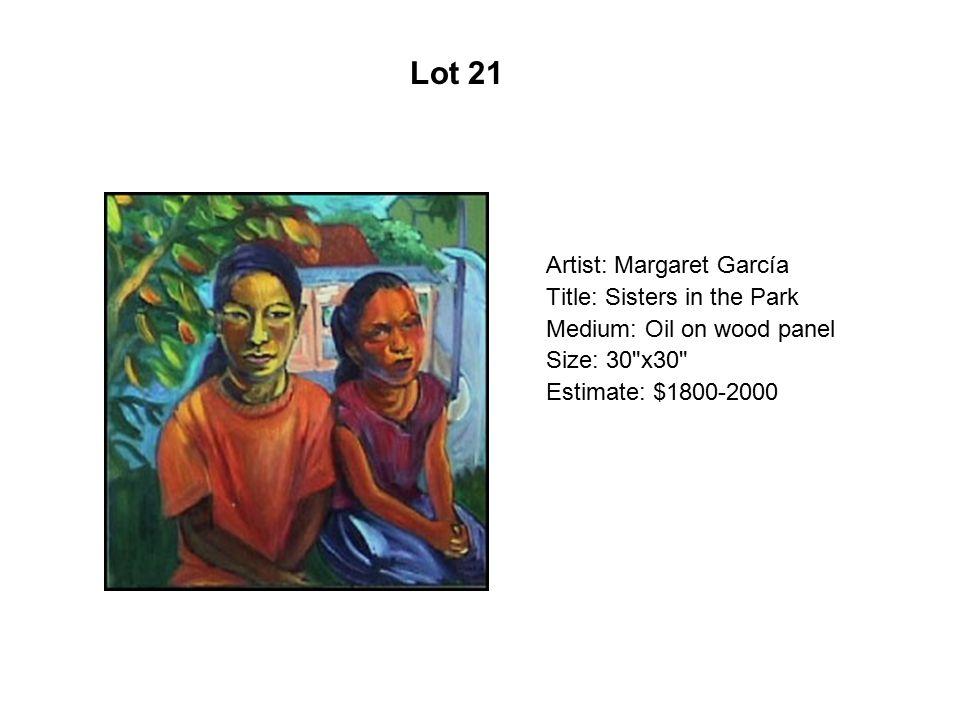Lot 16 Artist: Larry Yáñez Title: Cama Na My House Medium: Serigraph