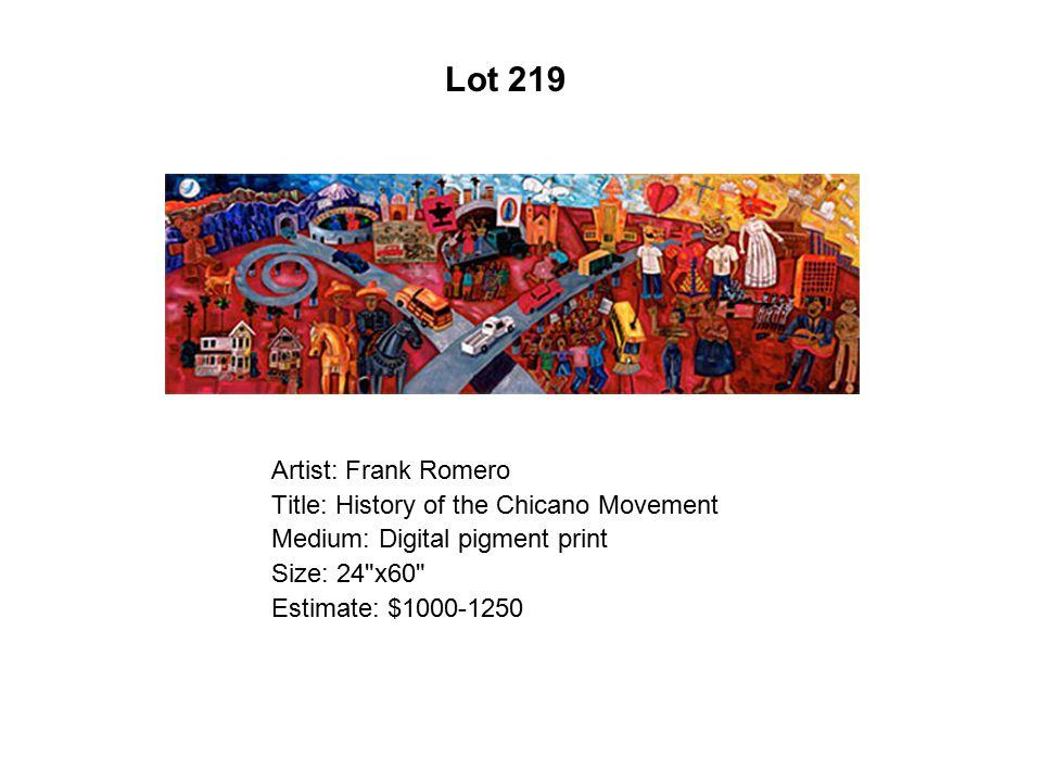 Lot 214 Artist: Tony De Carlo Title: No Se Porque No