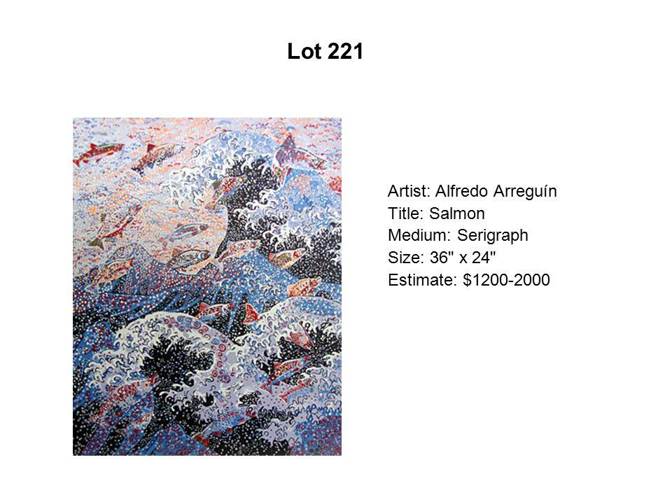 Lot 216 Artist: Mercedes Fernandez Title: …una cartita de amor...