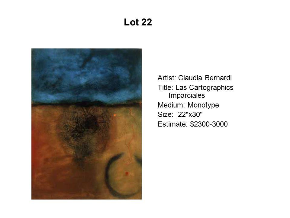Lot 17 Artist: Larry Yáñez Title: Ay Juana Cholla Medium: Lithograph
