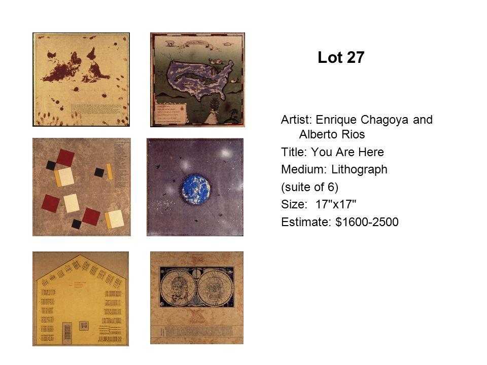 Lot 22 Artist: Claudia Bernardi Title: Las Cartographics Imparciales