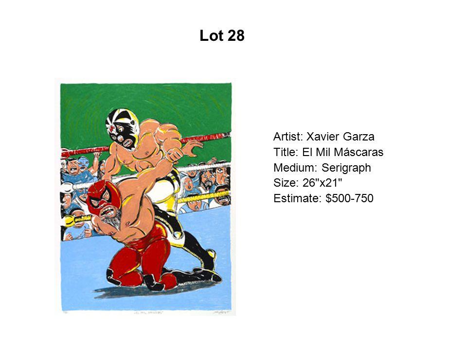 Lot 23 Artist: Meggan De Anza