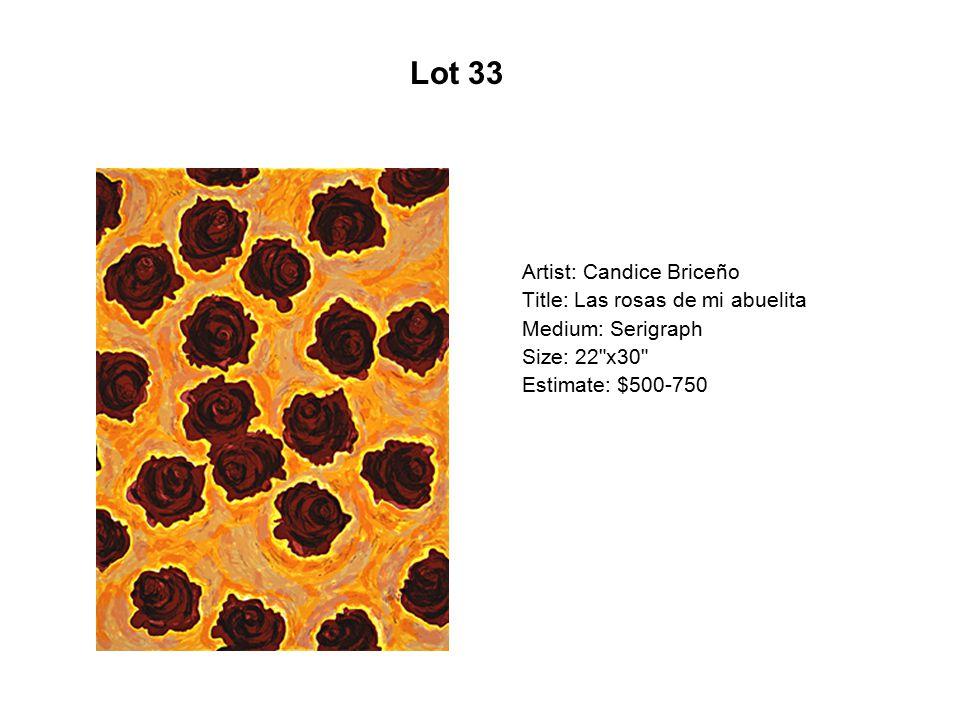 Lot 28 Artist: Xavier Garza Title: El Mil Máscaras Medium: Serigraph