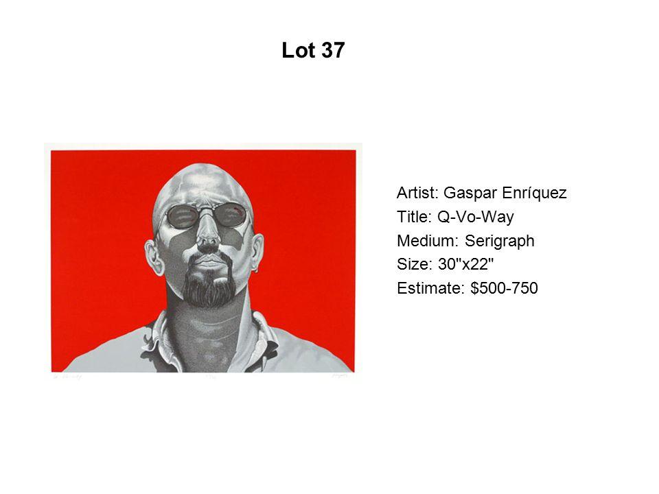 Lot 32 Artist: Tlisza Jaurique Title: Mayahuel