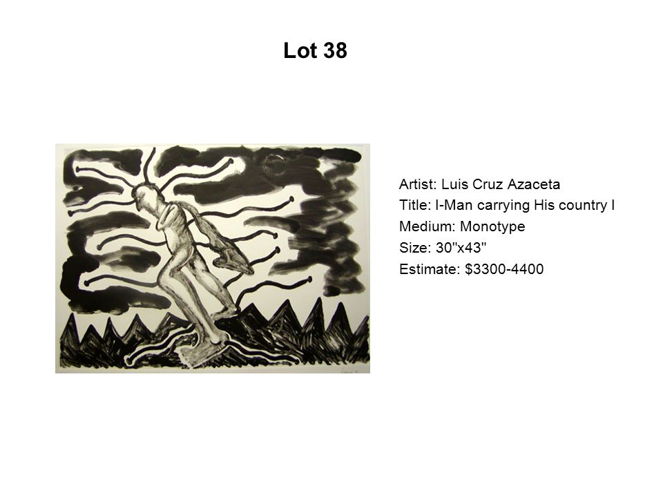Lot 33 Artist: Candice Briceño Title: Las rosas de mi abuelita
