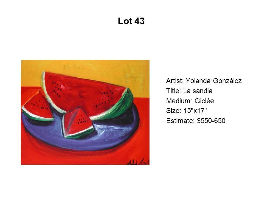 Lot 38 Artist: Luis Cruz Azaceta Title: I-Man carrying His country I
