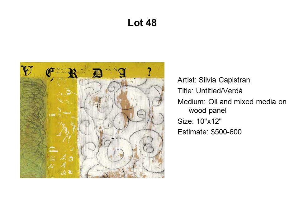 Lot 43 Artist: Yolanda González Title: La sandia Medium: Giclée